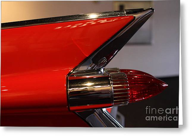 Caddy Greeting Cards - 1959 Cadillac Convertible - 7D17386 Greeting Card by Wingsdomain Art and Photography
