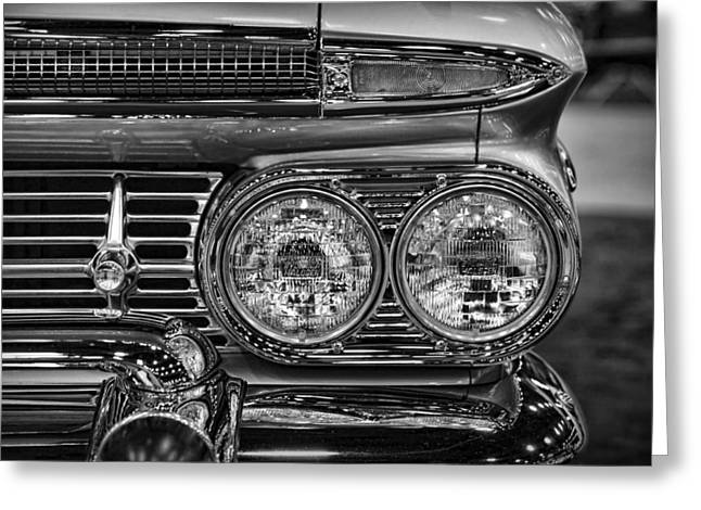 Hot Rodder Greeting Cards - 1959 Chevrolet El Camino Greeting Card by Gordon Dean II