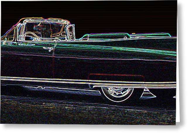 1960 Greeting Cards - 1960 Cadillac Eldorado Biarritz Convertible Greeting Card by One Rude Dawg Orcutt