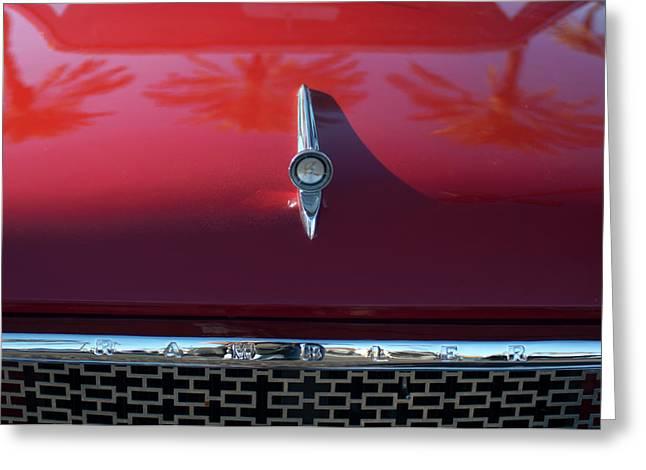 Car Mascots Greeting Cards - 1961 Rambler Hood Ornament 2 Greeting Card by Jill Reger