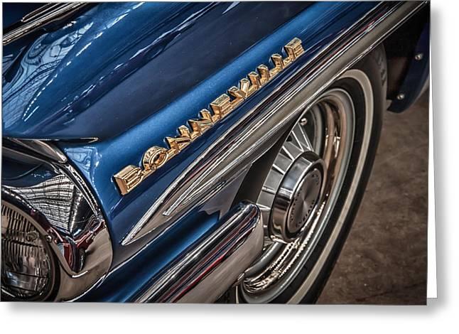 1962 Pontiac Greeting Card by James Woody