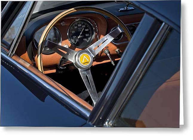 1963 Apollo Steering Wheel     Greeting Card by Jill Reger