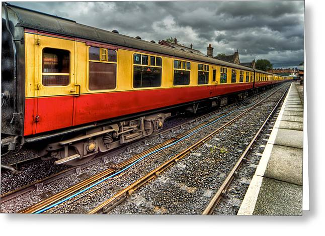 Railway Digital Art Greeting Cards - 1963 Carriage  Greeting Card by Adrian Evans
