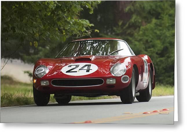 Ferrari 250 Gto Greeting Cards - 1964 Ferrari 250 GTO 64 Scaglietti Berlinette Greeting Card by Jill Reger