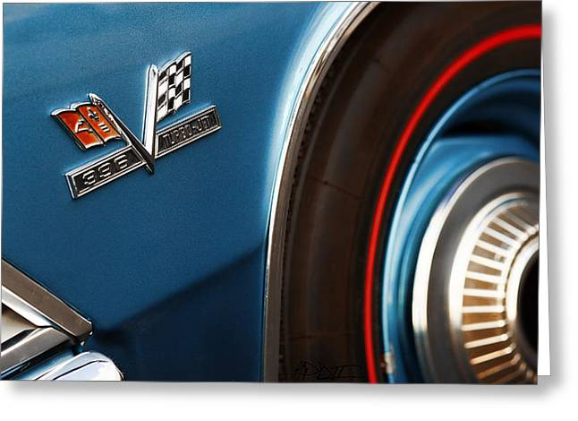 1967 Chevy Chevelle Ss Greeting Cards - 1966 Chevrolet Chevelle SS 396 Turbo Jet Greeting Card by Gordon Dean II