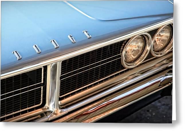 318 Greeting Cards - 1966 Dodge Coronet 500 Greeting Card by Gordon Dean II