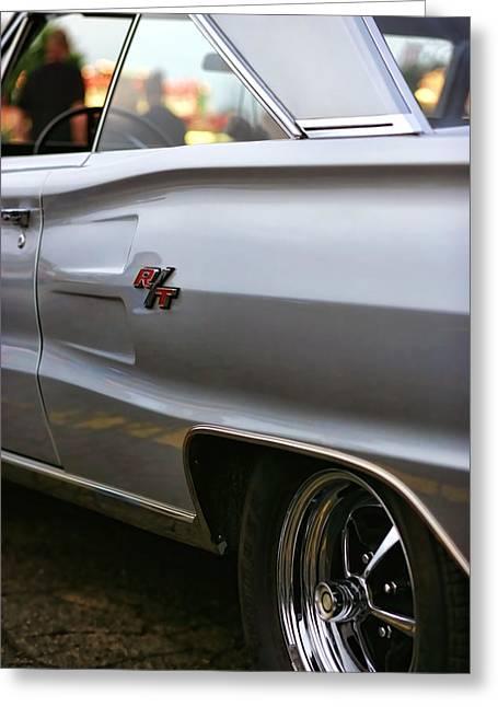 318 Greeting Cards - 1967 Dodge Coronet RT Greeting Card by Gordon Dean II