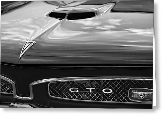 Tiger Dream Greeting Cards - 1967 Pontiac GTO Greeting Card by Gordon Dean II