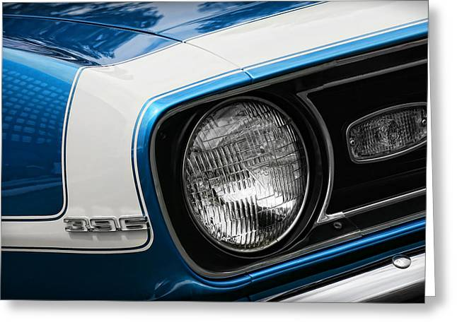 1960-1969 Greeting Cards - 1968 Chevy Camaro SS 396 Coupe Greeting Card by Gordon Dean II