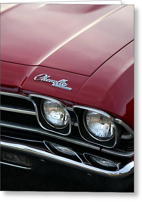 1967 Chevy Chevelle Ss Greeting Cards - 1968 Chevy Chevelle SS Greeting Card by Gordon Dean II