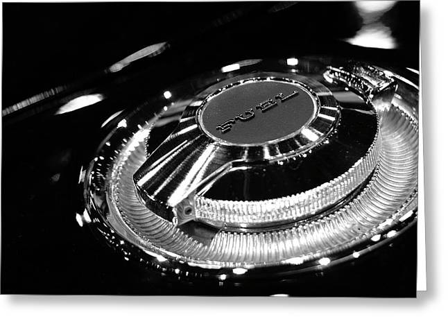 Mopar Greeting Cards - 1968 Dodge Charger Fuel Cap Greeting Card by Gordon Dean II