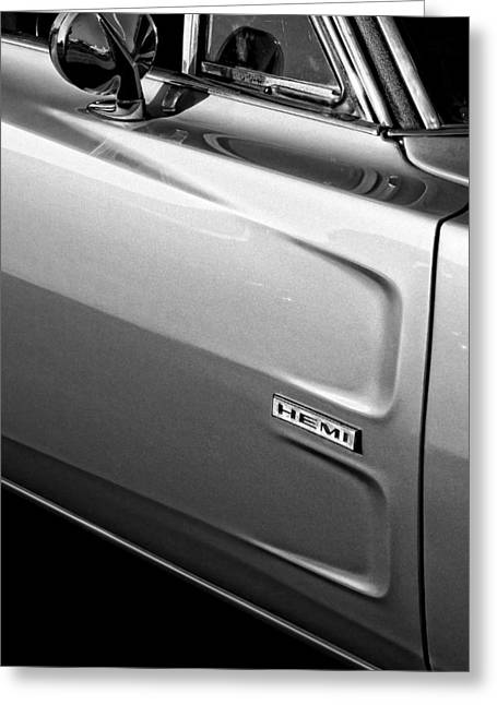 Super Bee Greeting Cards - 1968 Dodge Charger HEMI Greeting Card by Gordon Dean II