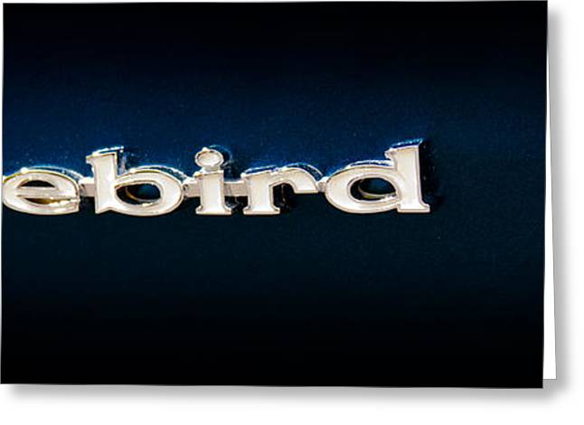 Collector Hood Ornament Greeting Cards - 1968 Pontiac Firebird Greeting Card by David Patterson