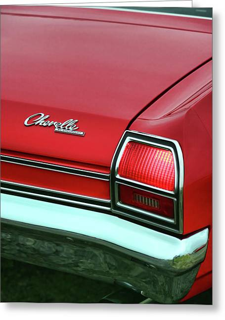 1967 Chevy Chevelle Ss Greeting Cards - 1969 Chevy Chevelle SS 396 Greeting Card by Gordon Dean II