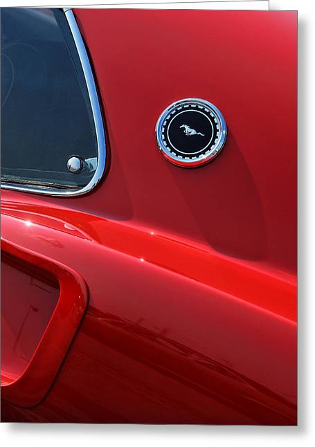1964 Ford Emblems Greeting Cards - 1969 Ford Mustang Mach 1 Greeting Card by Gordon Dean II