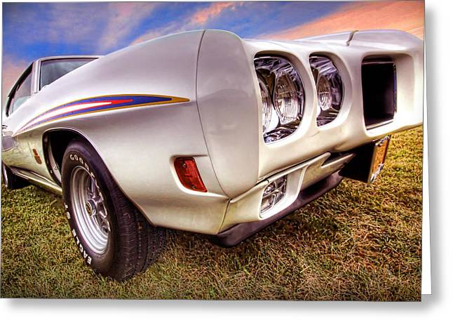 Dragway Greeting Cards - 1970 Pontiac GTO The Judge Greeting Card by Gordon Dean II