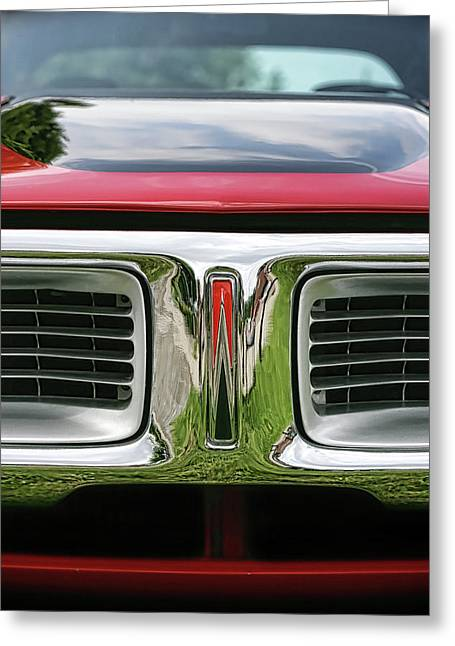 383 Greeting Cards - 1972 Dodge Charger 400 Magnum Greeting Card by Gordon Dean II