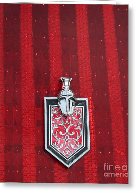 Centurion Greeting Cards - 1988 Monte Carlo SS Crest and Shield Emblem Greeting Card by Paul Ward