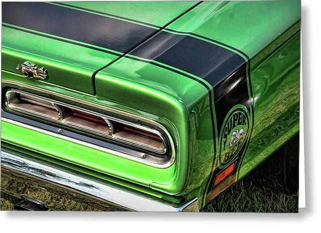 Turn Digital Art Greeting Cards - 1969 Dodge Coronet Super Bee Greeting Card by Gordon Dean II