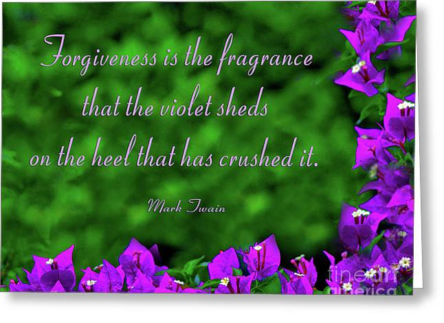 Forgiveness Digital Art Greeting Cards - 21- Forgiveness Greeting Card by Joseph Keane