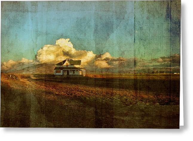 Plowing Field Greeting Cards - Abandoned Greeting Card by Bonnie Bruno