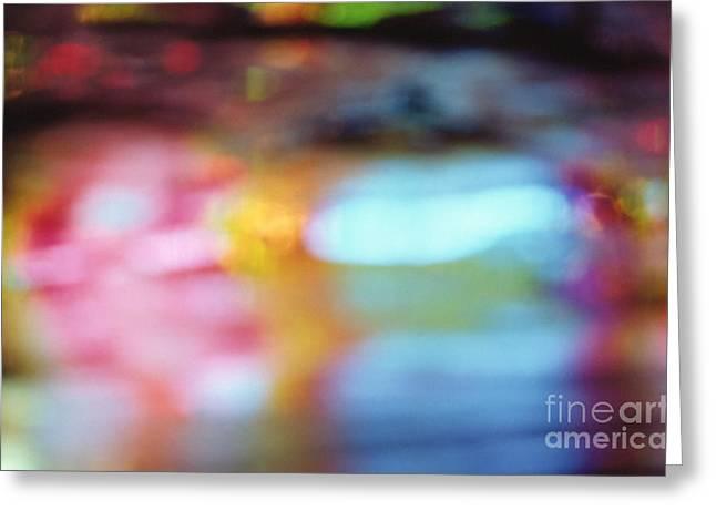 Visual Imagery Greeting Cards - Abstract Greeting Card by Tony Cordoza