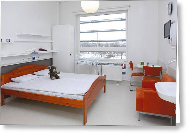 Accommodation For Patients And Families Greeting Card by Jaak Nilson