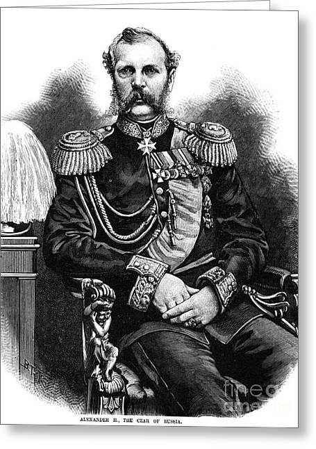 Alexander II (1818-1881) Greeting Card by Granger
