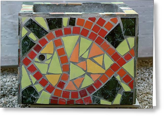 Garden Ceramics Greeting Cards - Aquarium Greeting Card by Vladimir Kozma