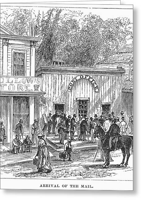 Daily Mail Greeting Cards - Arkansas: Hot Springs, 1878 Greeting Card by Granger