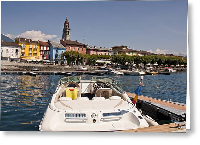 Swiss Photographs Greeting Cards - Ascona - Ticino Greeting Card by Joana Kruse