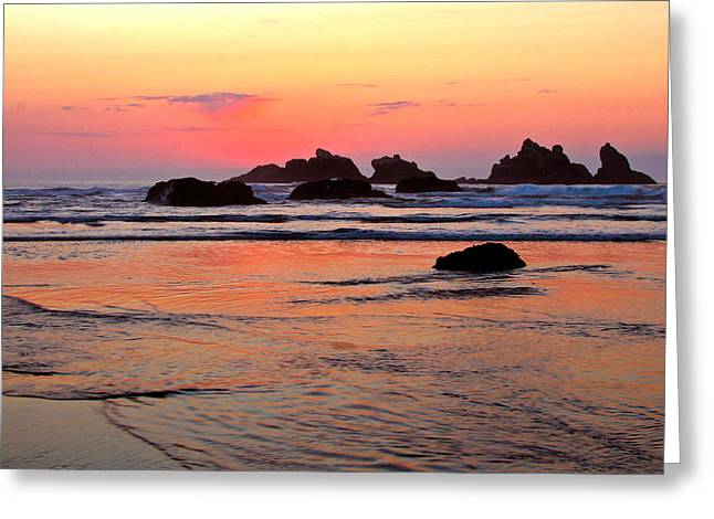 Jean Noren Greeting Cards - Bandon Greeting Card by Jean Noren