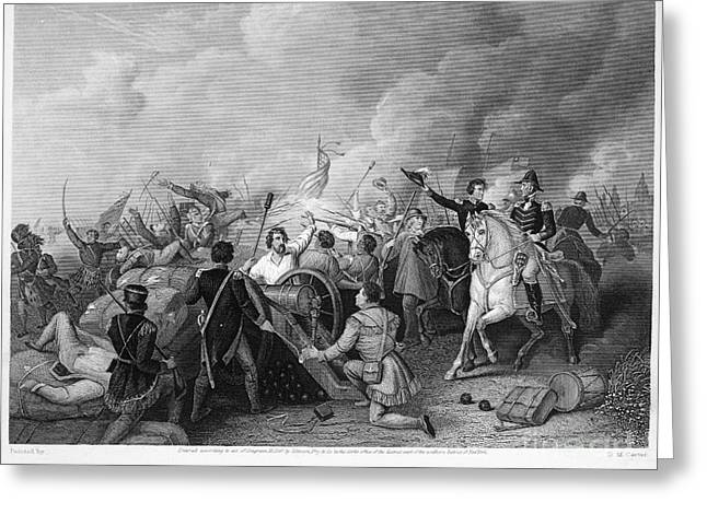 BATTLE OF NEW ORLEANS Greeting Card by Granger