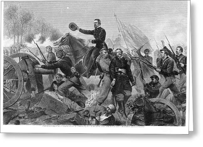 Bayonet Greeting Cards - Battle Of Spotsylvania Greeting Card by Granger