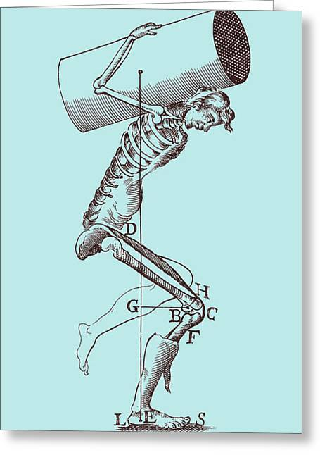 Physical Body Photographs Greeting Cards - Biomechanics Greeting Card by Science Source