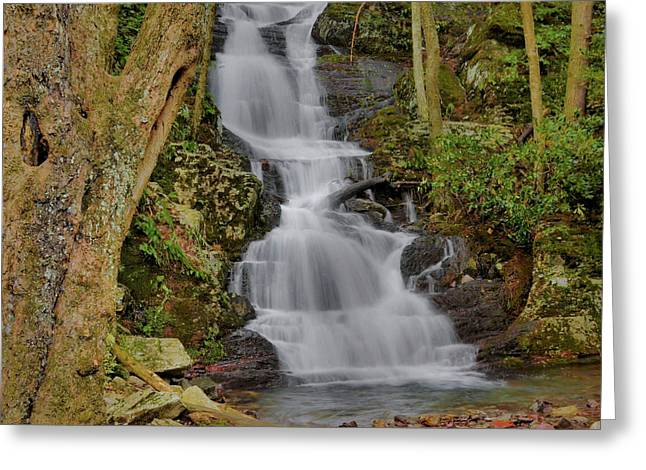Buttermilk Falls Greeting Cards - Buttermilk Falls Greeting Card by Stephen  Vecchiotti