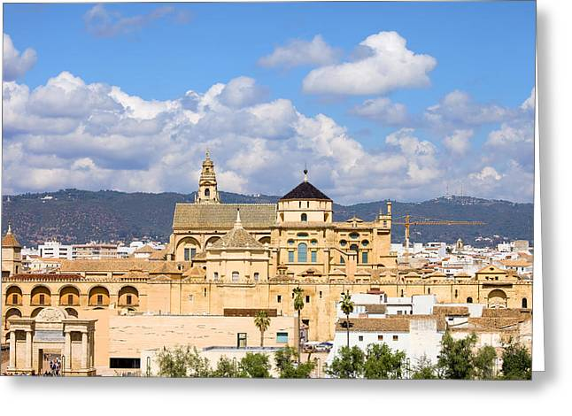 Cordoba Greeting Cards - Cathedral Mosque of Cordoba Greeting Card by Artur Bogacki