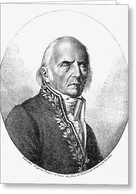 Chevalier Photographs Greeting Cards - Chevalier De Lamarck Greeting Card by Granger