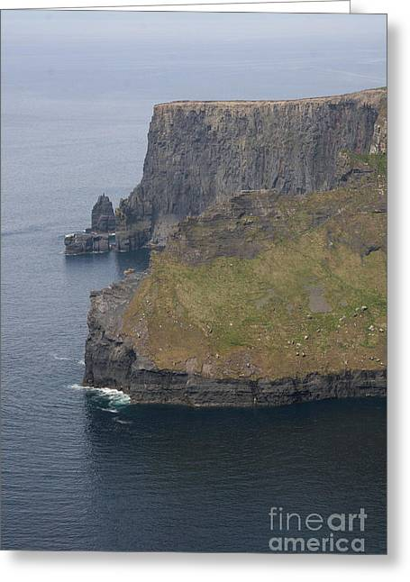 Cliffs Of Moher Greeting Card by Christiane Schulze Art And Photography