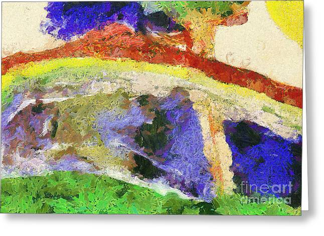 Homework Paintings Greeting Cards - Colors Greeting Card by Odon Czintos