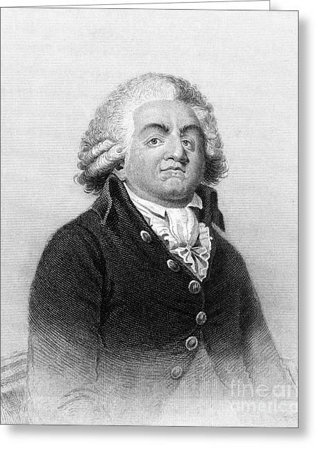 Comte De Mirabeau Greeting Card by Granger