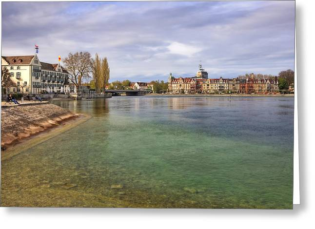 Lake Constance Greeting Cards - Constance Greeting Card by Joana Kruse