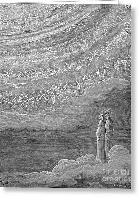 Divine Comedy Greeting Cards - Dante: Paradise Greeting Card by Granger