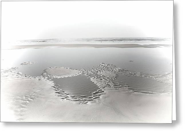 Sand Pattern Greeting Cards - Daydream Greeting Card by Bonnie Bruno