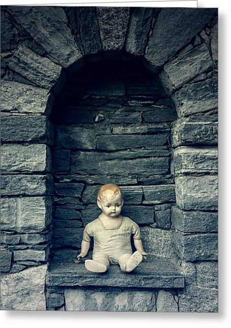 Doll Photographs Greeting Cards - Doll Greeting Card by Joana Kruse