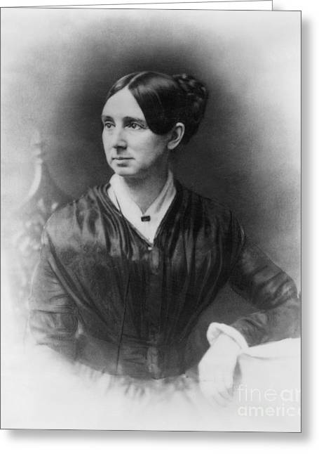 Reformer Greeting Cards - Dorothea Dix, American Reformer Greeting Card by Photo Researchers
