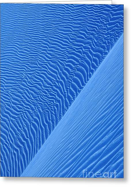 Sand Pattern Greeting Cards - Dunes Greeting Card by Iryna Shpulak