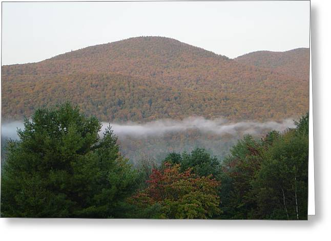 Early Autumn In Vermont Greeting Card by Margrit Schlatter