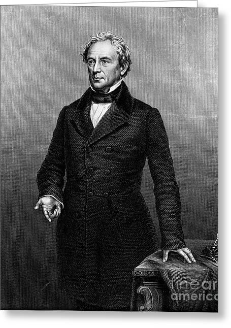 Orator Greeting Cards - Edward Everett (1794-1865) Greeting Card by Granger