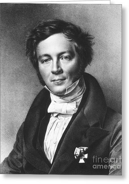 1833 Greeting Cards - Eilhard Mitscherlich, German Chemist Greeting Card by Science Source